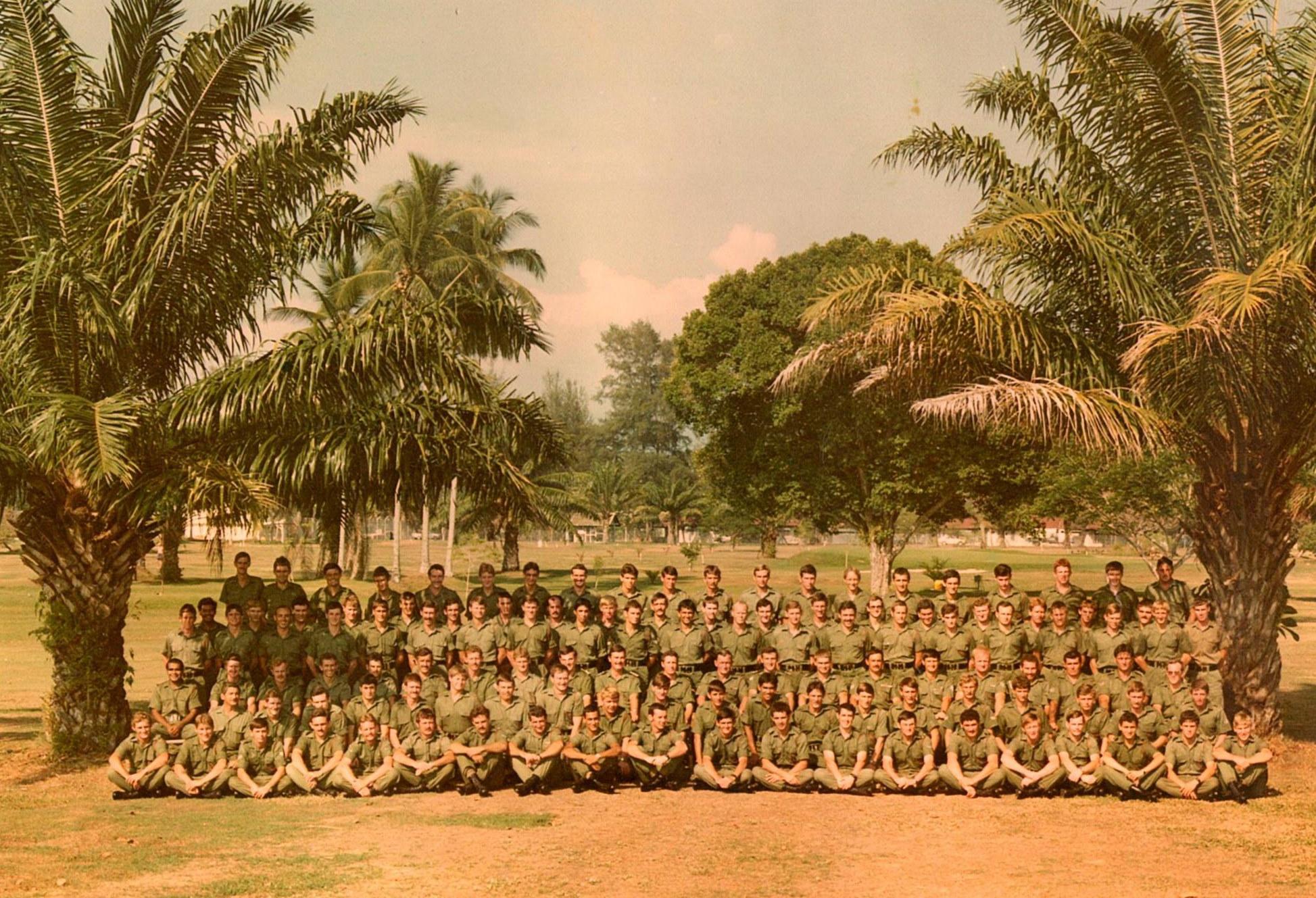 B COY RCB 1980 -81