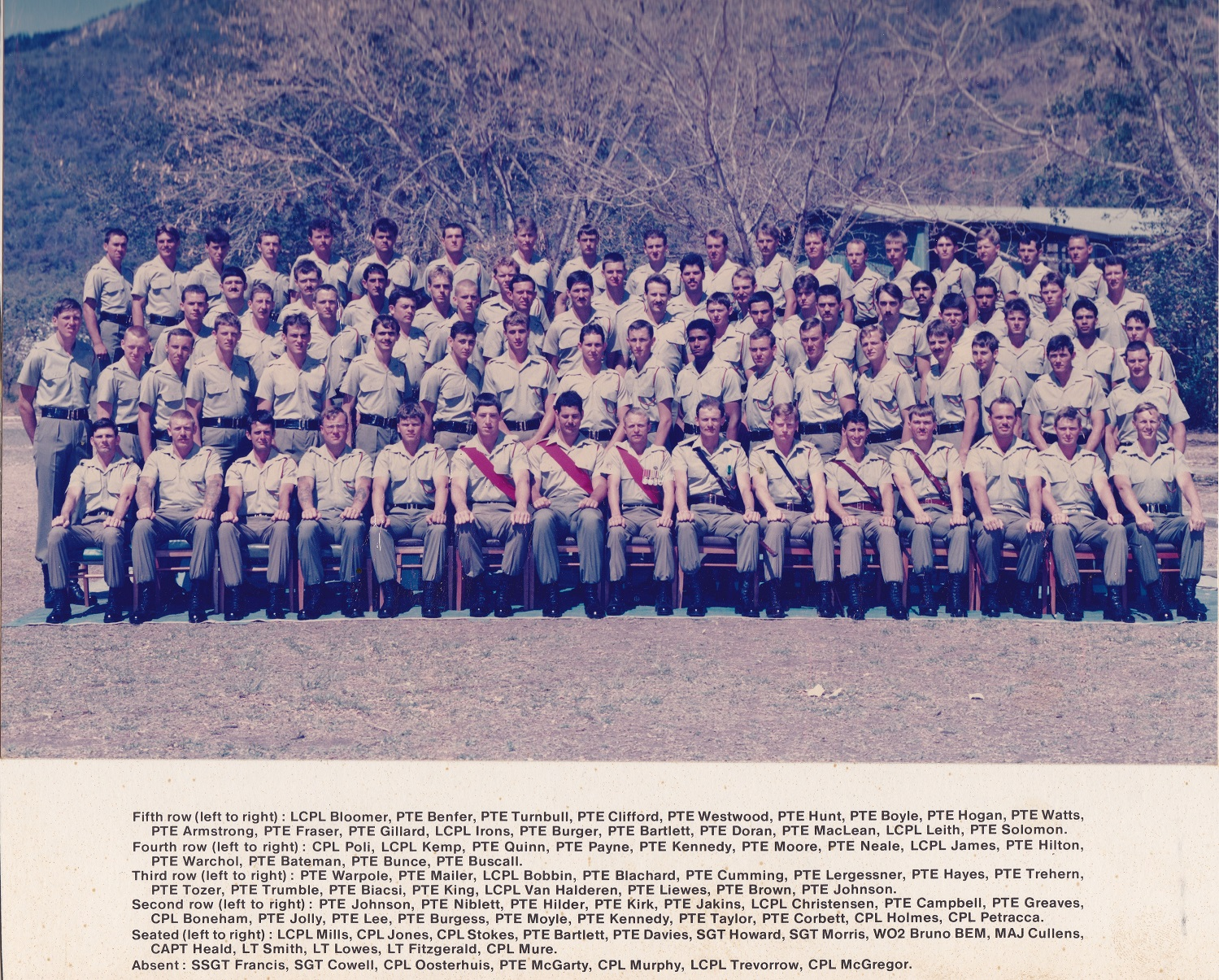 C Coy 1985