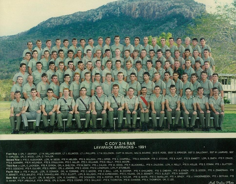 C Coy 1991
