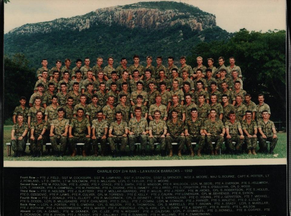C Coy 1992