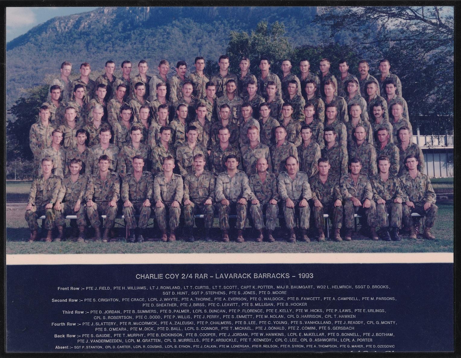 C Coy 1993