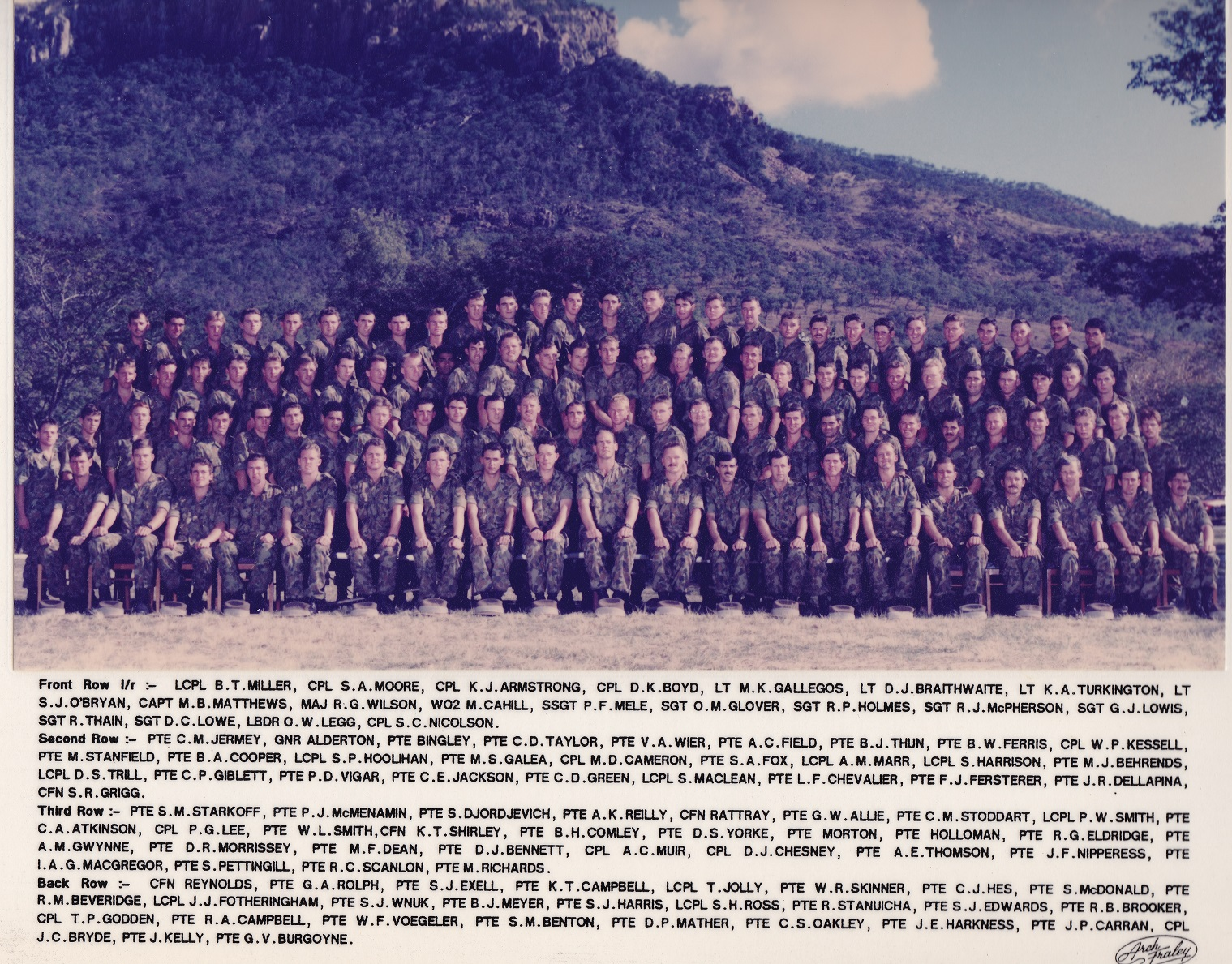 C Coy RCB 1988