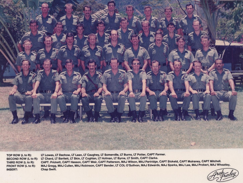 OFFRS Mess 1986