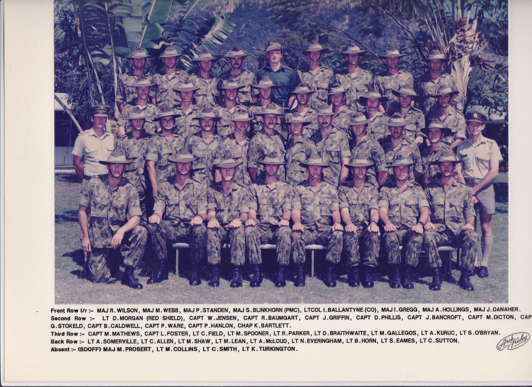 OFFRS Mess 1988