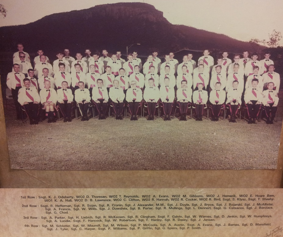 SGTS Mess 1973