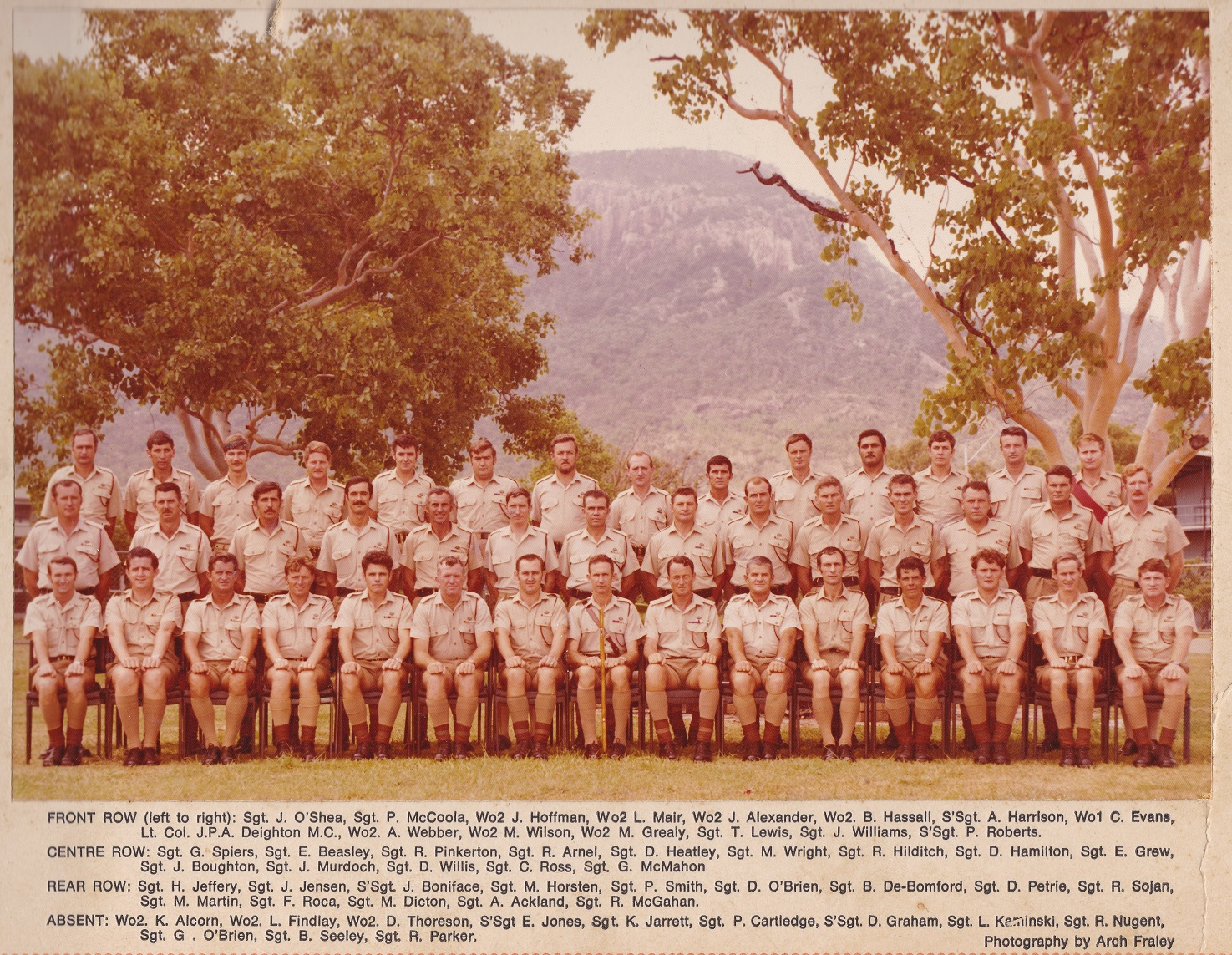SGTS Mess 1976