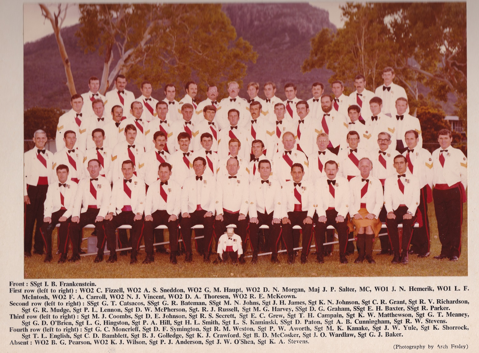 SGTS Mess 1979