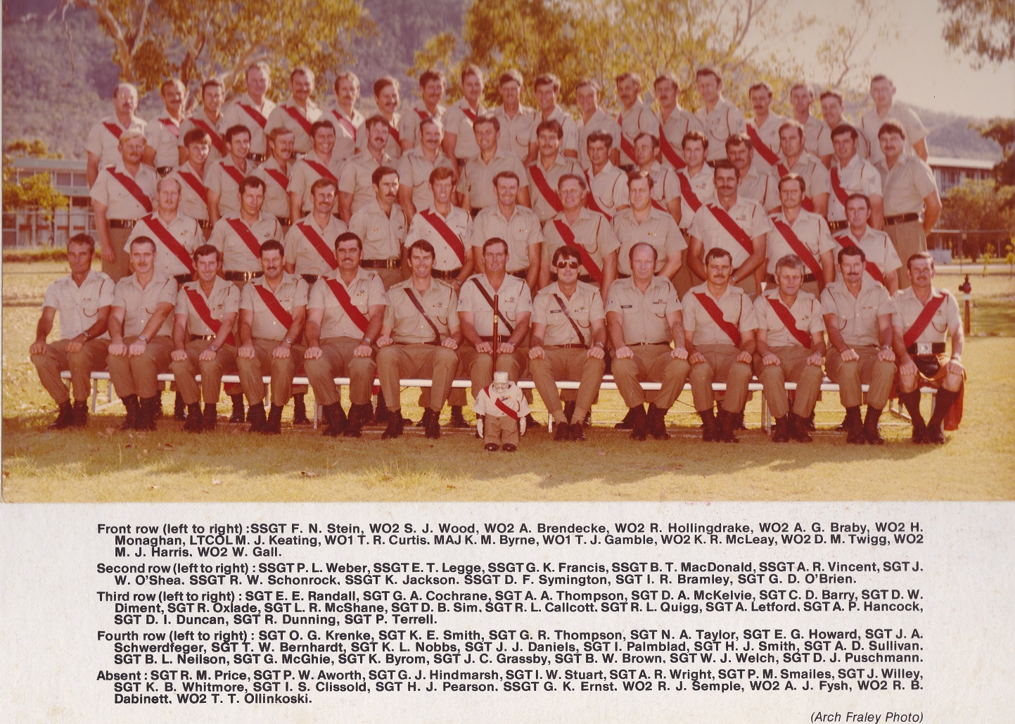 SGTS Mess 1983