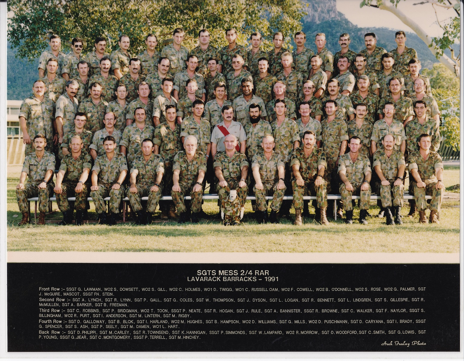 SGTS Mess 1991