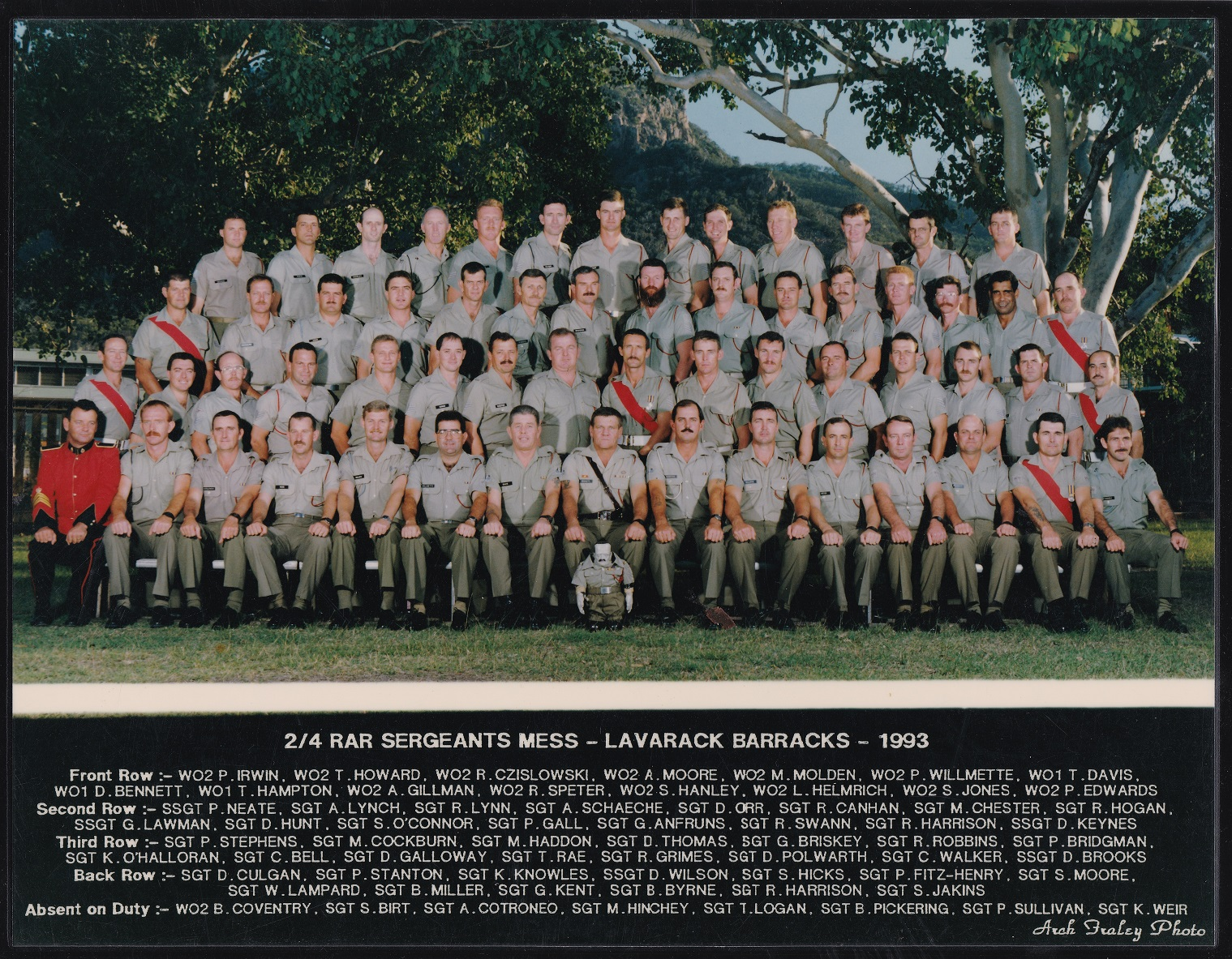 SGTS Mess 1993