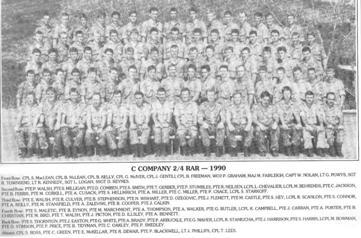 C COY 1990