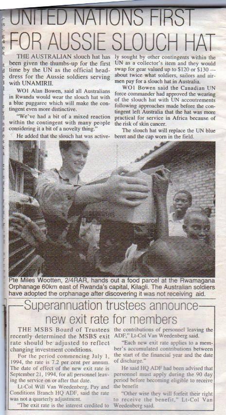 Rwanda news article