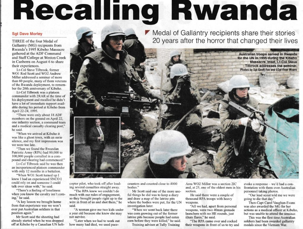 Recalling Rwanda