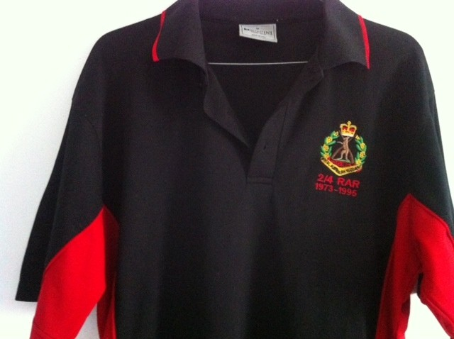 2/4 RAR Mens Polo Shirts